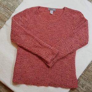 Modern Soul Mohair blend cable knit sweater Lrg